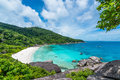 Similan island andaman sea thailand Stock Images
