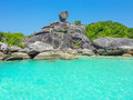 Similan island koh eight thailand beach view Royalty Free Stock Photos