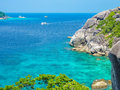 Similan island koh eight thailand beach view Royalty Free Stock Image