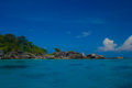 Similan island the national park in thailand Stock Image