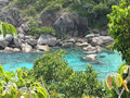 Similan island thailand famous and beautiful Royalty Free Stock Photo