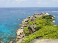 Similan island thailand famous and beautiful Stock Photos