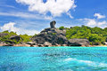 SIMILAN ISLANDS Royalty Free Stock Photo