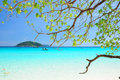 Similan islands paradise bay thailand Royalty Free Stock Image
