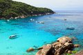 Similan islands thailand andaman sea Stock Image
