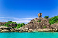 Similan islands thailand beautiful of in Royalty Free Stock Image