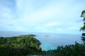 Similan viewpoint at eight island island thailand Royalty Free Stock Image