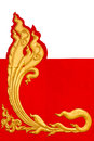 Similar golden stripes Thailand. Royalty Free Stock Image