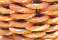 Simit - traditional turkish bagels Royalty Free Stock Photography