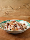 Simmer pig stomach cubes gourmet Royalty Free Stock Images
