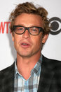 Simon baker arriving at the cbs television distribution tca stars party at the huntington library in san marino ca on august Stock Photo