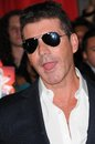 Simon cowell at fox s the x factor world premiere screening event cinerama dome hollywood ca Royalty Free Stock Image