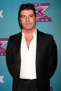 Simon cowell at the x factor season finale night cbs televison city los angeles ca Royalty Free Stock Photo