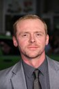 Simon pegg at the paul american premiere chinese theater hollywood ca Stock Photo