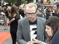 Simon Pegg At Scott Pilgrim Vs The World Royalty Free Stock Image