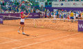 Simona halep brd open wta at kids day Stock Image