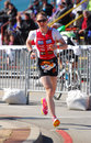 Simone Braendli - Ironman triathlete Royalty Free Stock Images