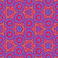 Simple abstract background. Colorful ornament. Kaleidoscope design