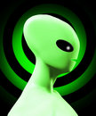 Simple Alien Form Royalty Free Stock Images