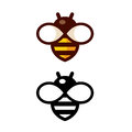 Simple Bee Logo