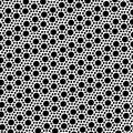 Simple black and white dot seamless pattern eps Stock Photo
