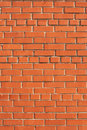 Simple brick wall. Royalty Free Stock Photos