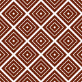 Simple brown background with rombs vector illustration Stock Images