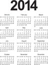 Simple calendar this is file of eps format Stock Image