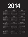 Simple calendar this is file of eps format Royalty Free Stock Image