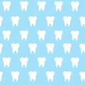 Simple Cartoon Tooth Pattern H...
