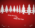 Simple  christmas card Royalty Free Stock Photography