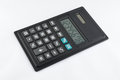 Simple black calculator Royalty Free Stock Photo
