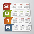 Simple design calendar year vector design template mounts from january december Royalty Free Stock Photo