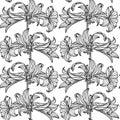 Simple floral pattern
