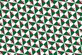 Simple geometric pattern in the colors of the national flag of Algeria Royalty Free Stock Photo