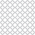 Simple geometric seamless vector texture Royalty Free Stock Image