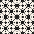 Simple geometric shapes pattern. Funky style geometrical
