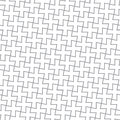 Simple geometric vector pattern - gray crosses Stock Image