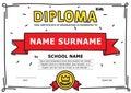 Simple kids diploma
