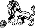 Simple lion mascot image perfect sports mascots etc Stock Photo