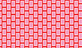 Simple Modern abstract red and pink  scales tribal   pattern Royalty Free Stock Photo