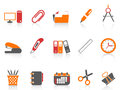 Simple office tools icon Royalty Free Stock Photo