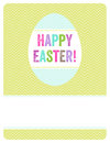 Simple playful easter background can be used as invitation card flyer Royalty Free Stock Images