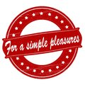 For a simple pleasures Royalty Free Stock Photo