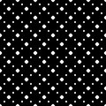 Simple polka dot minimalist pattern
