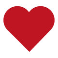 simple red heart Royalty Free Stock Photo