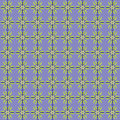 Simple seamless flower pattern on light violet background Stock Photos
