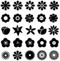 Simple Shape Geometric Flower ...
