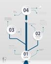 Simple Timeline infographics design