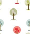 Simple trees icon/symbol on white background.